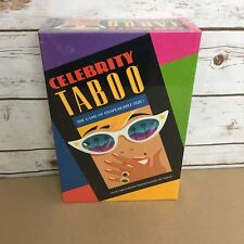 Celebrity Taboo Vintage 1991 Board Game of Unspeakable Fun Sealed