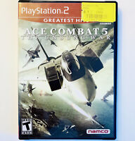 Ace Combat 5: The Unsung War Sony PlayStation 2 PS2 Greatest Hits Complete CIB