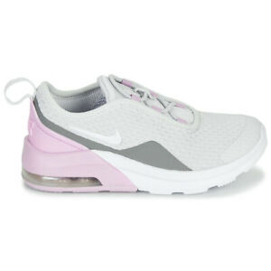 Chaussures Fille Nike Air Max Motion 2 AQ2743 015 Blanche Rose Sport Gymnastique