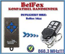 Belfox 7834 kompatibel handsender / 868,3Mhz KLONE / ERSATZ fernbedienung