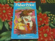 VERY RARE NEW~FISHER PRICE VHS~THE TRAVELLING MUSICIANS OF BREMEN~HI-TOPS VIDEO~