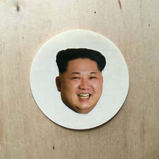 Kim Jong-Un North Korea vinyl sticker villain Dennis Rodman head leader supreme