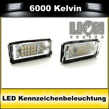 LED SMD Kennzeichenbeleuchtung BMW E46 Limousine, Touring, Compact weiss
