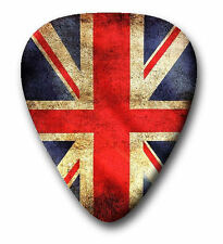 10 UK England Flag ~ Guitar Picks ~ Plectrums ~ Printed Both Sides