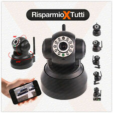 IP Camera motorizzata WIFI TELECAMERA SORVEGLIANZA INTERNO ESTERNO APPLE ANDROID