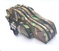 Fishing Rod Carrier Bag Double Layer Fishing Lure Hook Tackle Case Waterproof