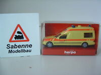 Herpa 188821 1/87 H0 Mercedes Benz Binz KAP Ambulance OVP B654