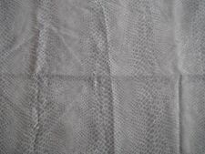 Light Weight Beige/Grey Snake Skin Print Polyester 1.8mt x 140cm