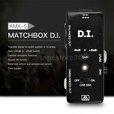 AROMA Multifunctional DI Box Electric Guitar Single Block Effects Pedal Device