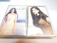 Lot of 2 Jaci Velasquez - Llegar a Ti & Heavenly Places Cassette Tape Rare