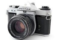 N-Mint🌟 Asahi Pentax KX Sliver 35mm SLR Film Camera + SMC 55mm F/1.8 from Japan