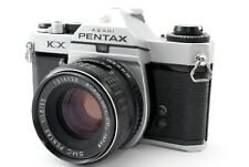 N-Mint🌟 Asahi Pentax KX Sliver 35mm SLR Film Camera + SMC 55mm F/1.8 from Japan
