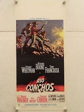 RIO CONCHOS western regia Gordon Duglas locandina orig. 1970