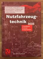 Hoepke / Breuer - Nutzfahrzeugtechnik Gundlagen Systeme Komponenten - 4. Auflage