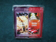 Scented Wax Cube 24 Melts Warm Cider & Blackberry Crumble  Home Scents Cubes NEW