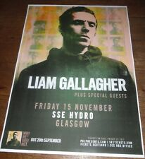 Liam Gallagher OASIS live music show 2019 promotional tour concert gig poster
