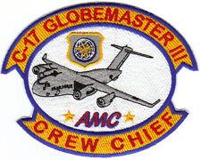 C-17 GLOBEMASTER III CREW CHIEF PATCH