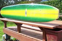 """Vintage 1966 Hansen Cardiff  9'8"""" Surfboard"""