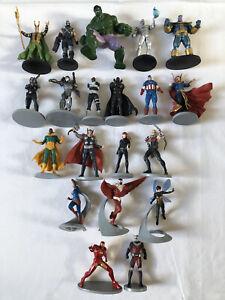 Disney Store Marvel Avengers Mega Figurines Playset: 20 Collectible Avengers Set