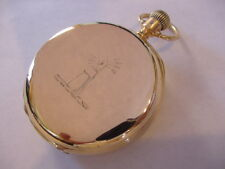 Rare 2 Star 1888 WALTHAM 5 MINUTE REPEATER 18K GOLD MODEL 1884 BOOKS to $9,500!