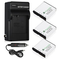 NP-40 Li-Ion Battery + Charger for Casio Exilim EX-Z1050 EX-Z1000 EX-Z750 Camera