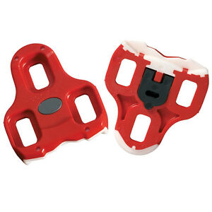 Look Keo Black / Grey / Red Replacement Cleats Cleat