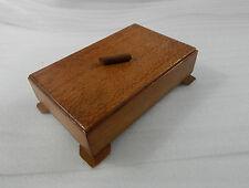 ART deco in rovere Gioielleria/Ciondolo Box 18cm x11cm