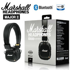 NEW Marshall Major2 Bluetooth Headphones Generation Headset Remote Mic HIFI
