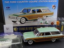 Franklin Mint 1961 Ford Country Squire Station Wagon 1:24 Die Cast Model Car