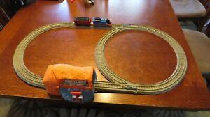 Thomas & Friends Trackmaster TALKING THOMAS' BUST THROUGH MINE TUNNEL Train Set