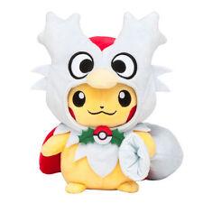 Pokemon Center Delibird Poncho Pikachu Plush Doll Toy Figure Stuffed Animal Gift