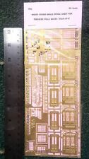 Langley Models Etching for terraced Villa backs V8 OO Scale UNPAINTED Kit V8a