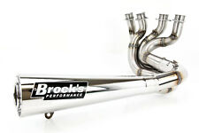 "07-08 GSX-R1000 Brock's Sidewinder 4-2-1 Full Exhaust - Stainless Steel 20"""