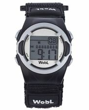 Montre vibrante 8 alarmes Wobl Noir
