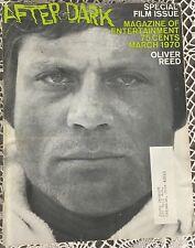 Vintage Gay Interest AFTER DARK Magazine March 1970 Oliver Reed Tab Hunter EXC