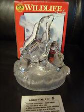 Rara Vintage RCR Royal Rock Cryst Sellos Estatuilla Ornamento De Vidrio Cristal De Plomo 24%