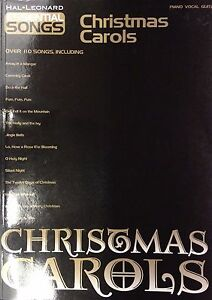 Christmas Carols - Over 110 Songs - Hal Leonard (Shop display)