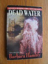 Barbara Hambly Dead Water SIGNED 1st SC Near Fine