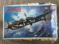 Academy 1:48 Scale Lockheed P-38E Lightning 2144  - Kit Sealed