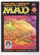 Mad Magazine #38 1958 EC Comics F/VF 7.0