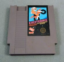 EXCITEBIKE 1985 NES Nintendo CONTACTS CLEANED WORKS