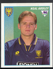Merlin Football Sticker- 1997 Premier League - No 528 - Wimbledon - Neal Ardley