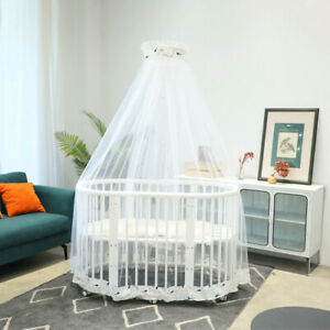 Summer Baby Crib Bed Canopy Mosquito Net Bedcover Nursery Bedding Tent Nettings