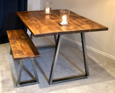 Round Dining Wooden Table