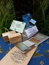Greek Vegan Society trademarked olive oil SOAPS x 2 bars - by Patounis of Corfu