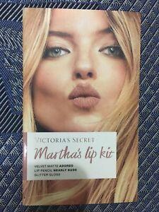 VICTORIA'S SECRET MARTHA'S ANGEL LIP KIT NEW!