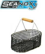 Amiaud: panier coquillage Seanox maille PVC