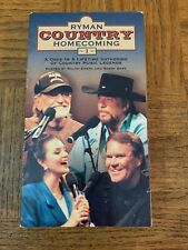 Ryman Country Homecoming VHS