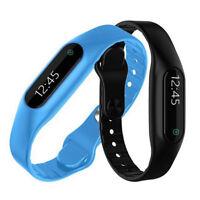 B58C Smart Armband OLED Touch Display Wasserdicht Fitness Sleep Sport Tracker iO
