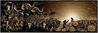 Wondercon 2019 300 Spartans Sam Mayle Poster Giclee Print 36x12 Mondo